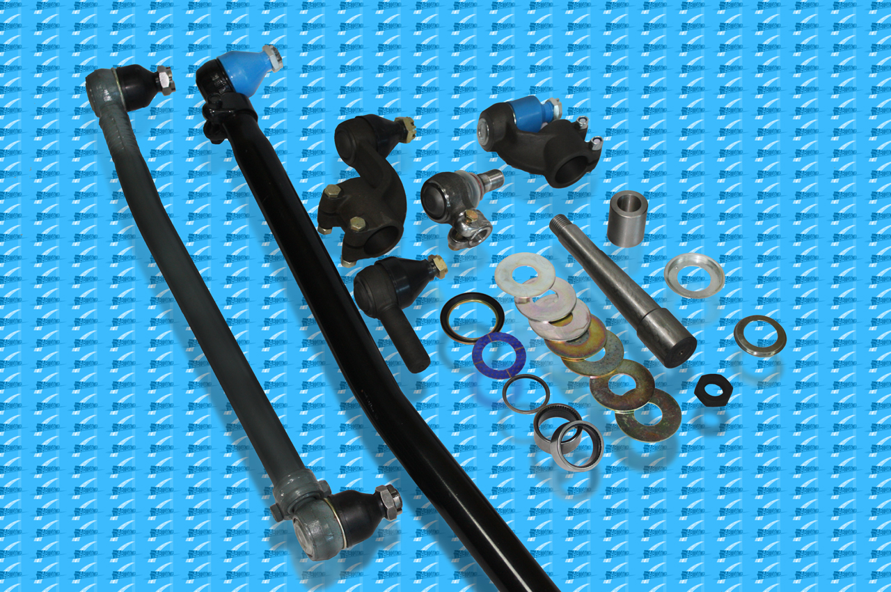 Rods rubber mounting suspension